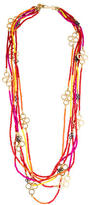 Tory Burch Beaded Multi-Strand Necklace