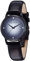 Ted Baker Women's TE2100 Modern Black Dial and Case Black Strap Watch