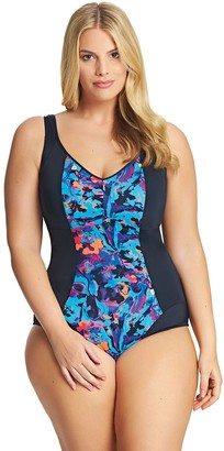 Elomi Swim Abstract Moulded Cups Swimsuit (20