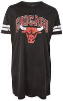 Unk x topshop Chicago bulls t-shirt dress