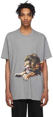 Givenchy Grey Oversized Leo T-Shirt