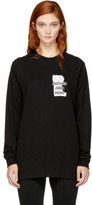 Perks And Mini Black Long Sleeve home Maid T-shirt
