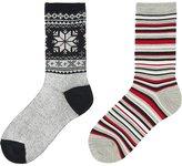 Uniqlo Boys Heattech Socks 2p
