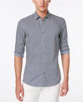 Michael Kors Men's Kelvin Diamond-Pattern Shirt
