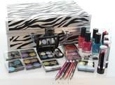 ETA Cosmetics Carry All Train Case Makeup Set and Reusable Case (White) by ETA Cosmetics