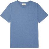 Oliver Spencer - Envelope Mélange Cotton-jersey T-shirt