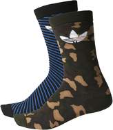 adidas Men's Originals Thin Graphic Crew Socks