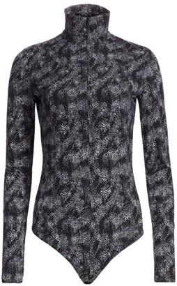 Wolford Wildlife Speckle Bodysuit