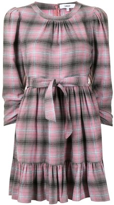 LIKELY Plaid Shirt Dress