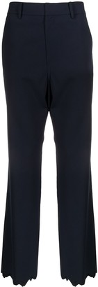Ader Error Distressed Straight-Leg Trousers