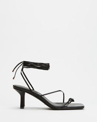 Billini - Women's Black Strappy sandals - Elodie - Size 6 at The Iconic