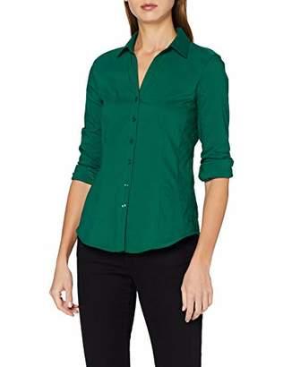 More & More Women's Bluse von Blouse, (Emerald Green 0655)
