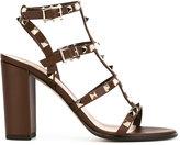 Valentino Garavani Valentino 'Rockstud' strap sandals - women - Calf Leather/Leather - 36