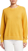 Eileen Fisher Crewneck Organic Linen/Cotton Sweater