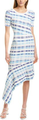 Milly Directional Draped Dress
