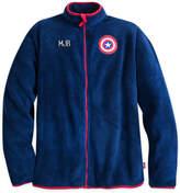 Disney Captain America Fleece Jacket for Men - Personalizable
