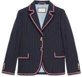 Gucci Cotton wool stripe jacket