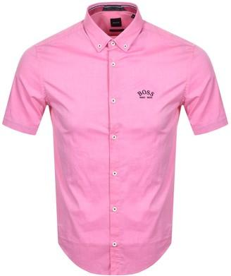 Boss Athleisure BOSS Biada R Short Sleeved Shirt Pink