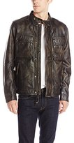 Lucky Brand Men's Ace Leather Jacket
