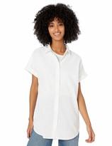 Goodthreads Amazon Brand Women's Washed Cotton Short-Sleeve Tunic
