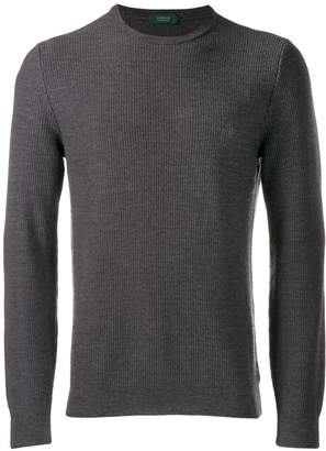 Zanone slim-fit knit sweater