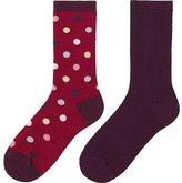 Uniqlo Girls Regular Socks 2p