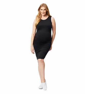 Cake Maternity Women's Bodycon Sleeveless Maternity Dress