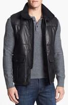Vince Camuto Men's Leather Vest