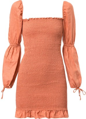 Reformation Hilary smock dress
