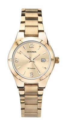 Sekonda Womens Analogue Classic Quartz Watch with Stainless Steel Strap 2782.27