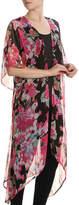 Betsey Johnson Women's Floral Chiffon Kimono
