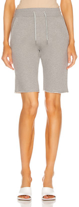 Marissa Webb Romy Edge Bermuda Short in Heather Grey | FWRD