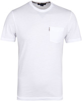 Aquascutum White Brady Crew Neck T-shirt