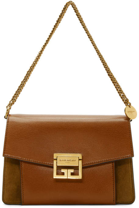 Givenchy Brown Small GV3 Bag