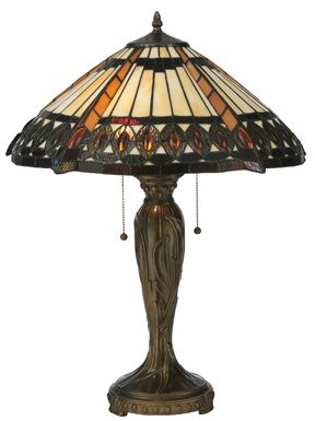 "Meyda Tiffany Cleopatra 25"" Table Lamp"