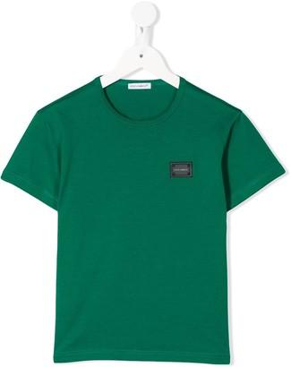 Dolce & Gabbana Kids round neck T-shirt