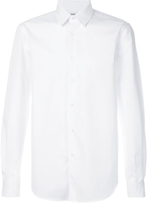 Aspesi Pointed Collar Cotton Shirt