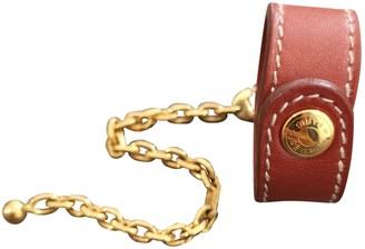 Hermes Camel Leather Bag charms