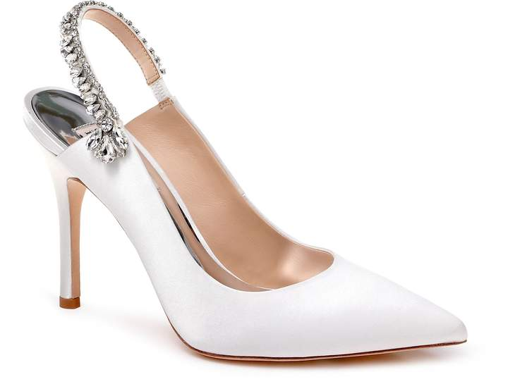 Badgley Mischka Collection Paxton Pointy Toe Slingback Pump