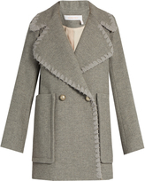 See by Chloe Double-breasted wool-blend coat