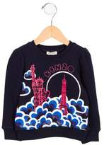 Kenzo Boys' Logo Statue of Liberty Sweatshirt w/ Tags