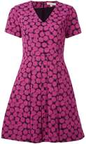 MICHAEL Michael Kors pleated printed dress