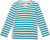 Boy and Girl Striped Cotton Long-Sleeve T-Shirt