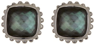 Lagos Sterling Silver Mother of Pearl Stud Earrings