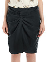 424 Fifth Sand Washed Twill Sarong Skirt