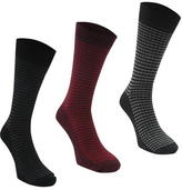 Firetrap Blackseal Thin Stripe Socks