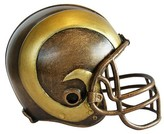 Wild Sports NFL Mini Bronze Helmet Statue Sports Memorabilia