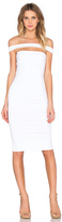 Donna Mizani Strapped Midi Dress