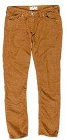 Etoile Isabel Marant Corduroy Straight-Leg Pants