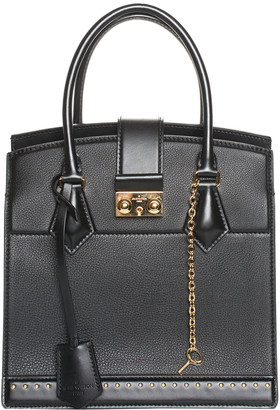 Louis Vuitton 2017 Black Leather Cour Marly Pm, Never Carried